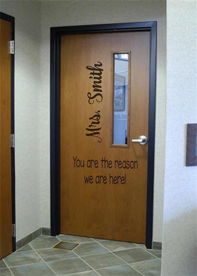 Large Classroom Door Decals 12 Choices Classroom Door Door Decals School Doors