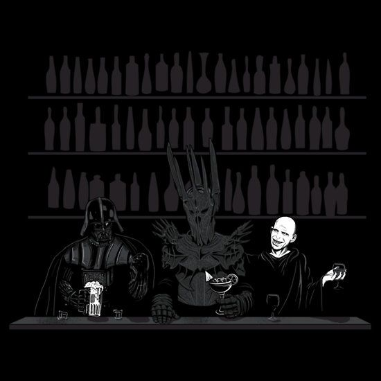 """""""Dark Lord Happy Hour"""" T-Shirts & Hoodies by spacemonkeydr   RedBubble"""