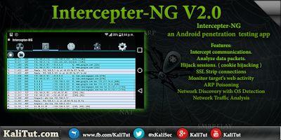 Intercepter-NG Android Hacking app