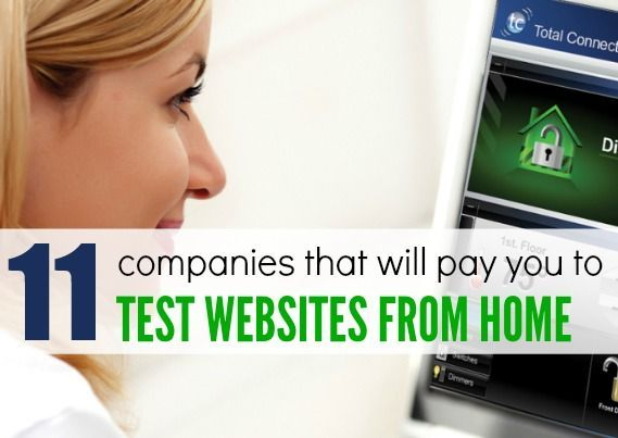 Looking for an easy way to get paid testing websites from home? I have shared 12 legitimate companies that will pay you to be a website tester from home.
