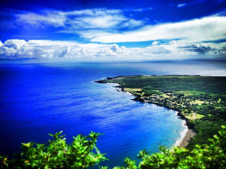 Kalaupapa From Above In Moloka 39 I Kalaupapa Was Is A Leper Colony In Hawaii Now It Is A