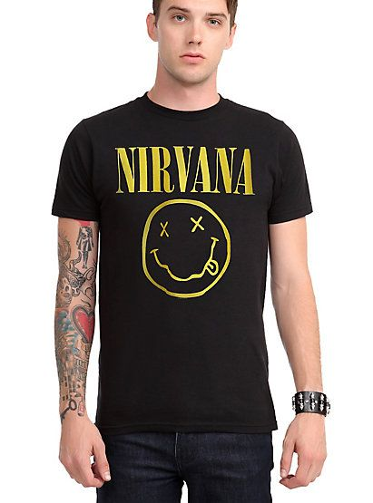 Nirvana Smiley T-ShirtNirvana Smiley T-Shirt,