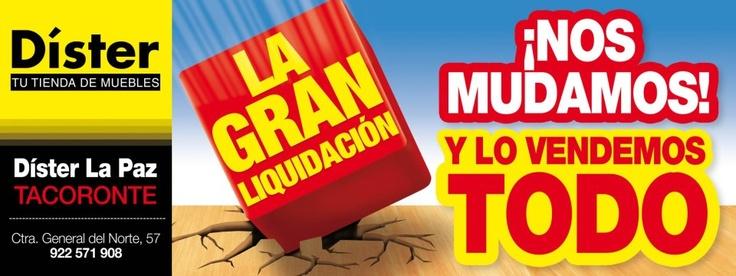 Dister Tenerife: Muebles en liquidación | Canarias Free