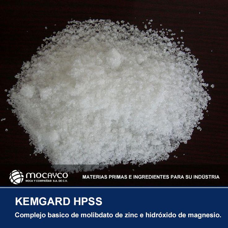 KEMGARD HPSS. Complejo básico de molibdato de zinc e hidróxido de magnesio.