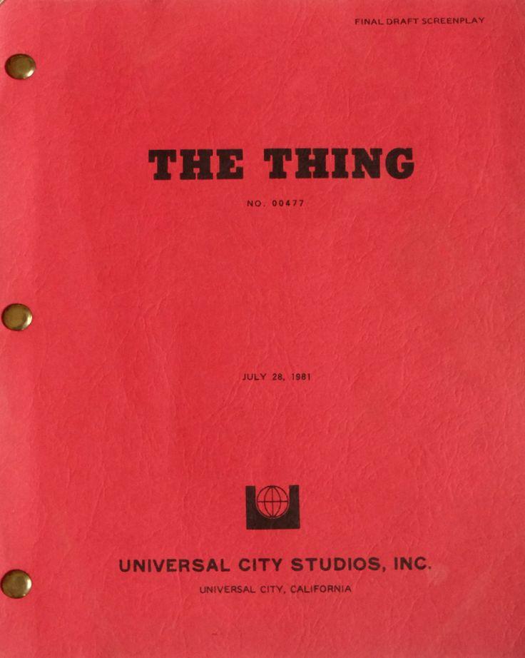the-thing-original-movie-script-w-revisions-usa-1982-john-carpenter