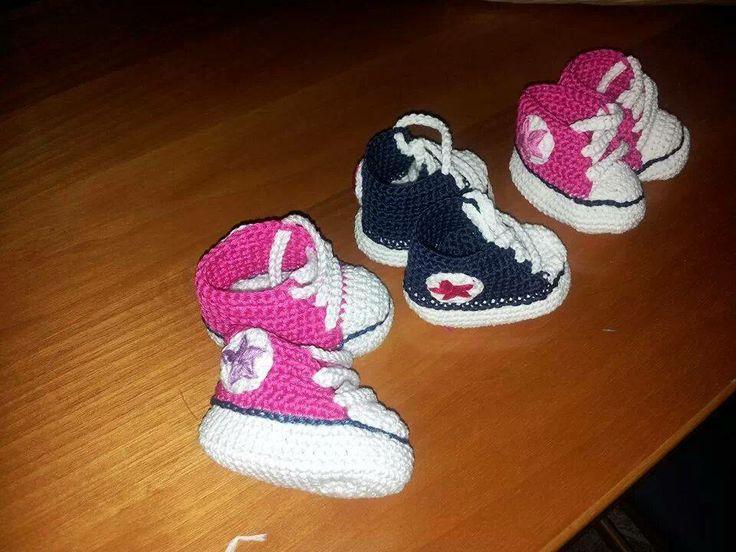 scarpette da neonato in cotone