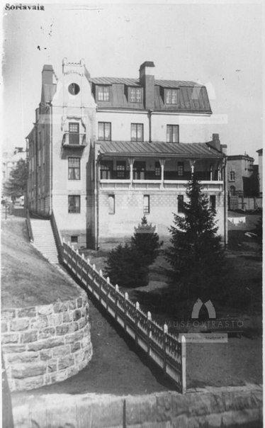 Karjalan sillan pää Sortavalassa. 1930-luku