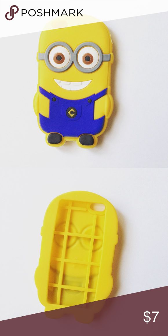 Minions case for iPhone 5! Only used once! Accessories Phone Cases