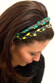 Como hacer accesorios para el pelo facilmente :lodijoella