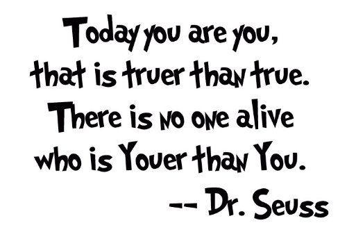 I love Dr. Seuss:)