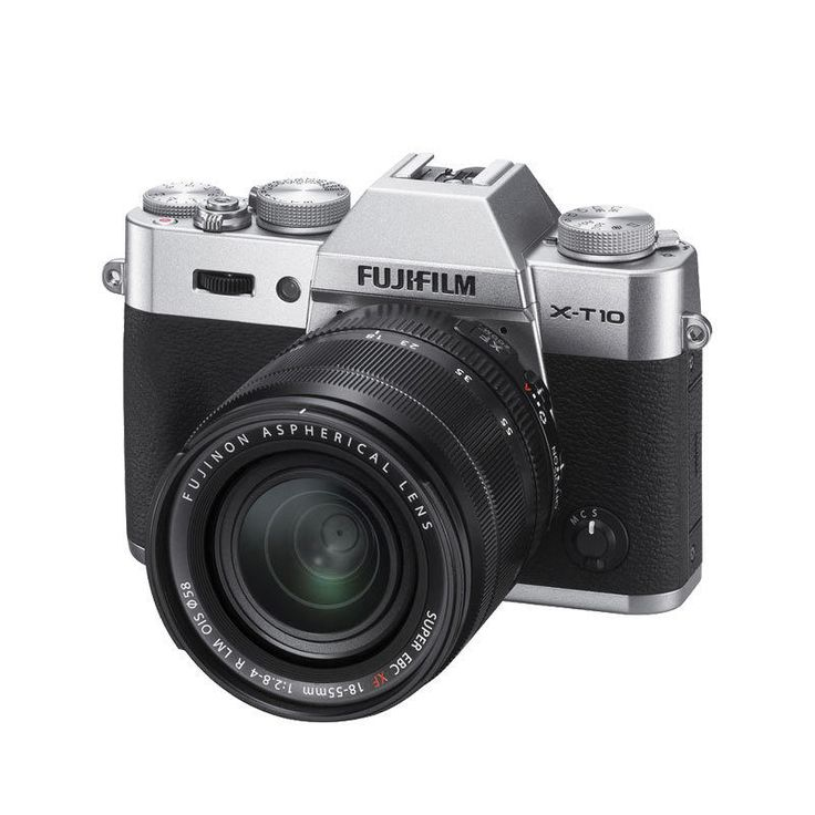 """Visit store Store Categories See all items in the store Fujifilm X-T10 Mirrorless Digital Camera+18-55mm Lens Silver(Ship from IE) Product detail Fujifilm X-T10 Mirrorless Digital Camera with 18-55mm Lens (Silver) Kit Fujifilm X-T10 Mirrorless Digital Camera (Silver) Body Feature PRODUCT HIGHLIGHTS 16.3 MP APS-C X-Trans CMOS II Sensor EXR Processor II 0.39"""" 2,360k-Dot 0.62x OLED […]"""
