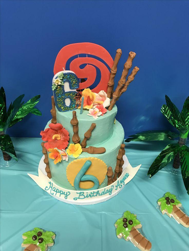 Moana Birthday Cake By Mylene Lee Cakesbymylene