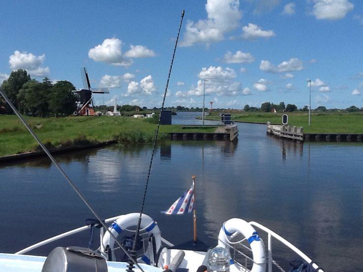 Zomer in Friesland.