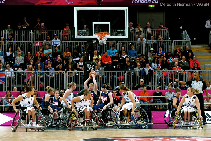 Action-packed game, with a close loss to Germany. USA 48, Germany 54 - 2012 London Paralympic Games