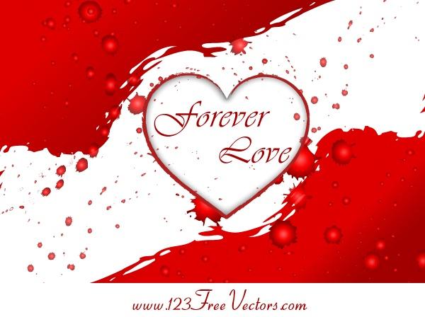 Valentine's Heart Vector Graphics