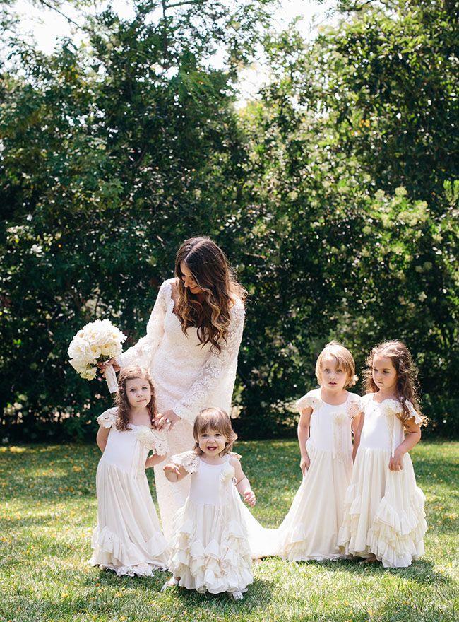 ruffle dress flower girls