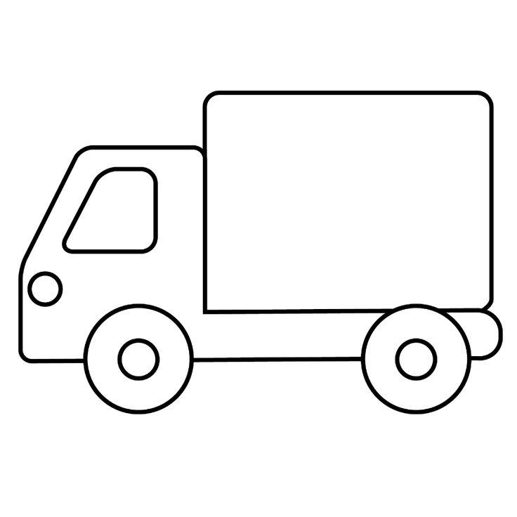мощную грузовик картинка простая осмотр врача