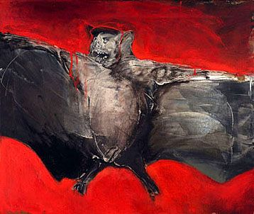 Miriam Beerman - Bat in Flight by QCC-Art
