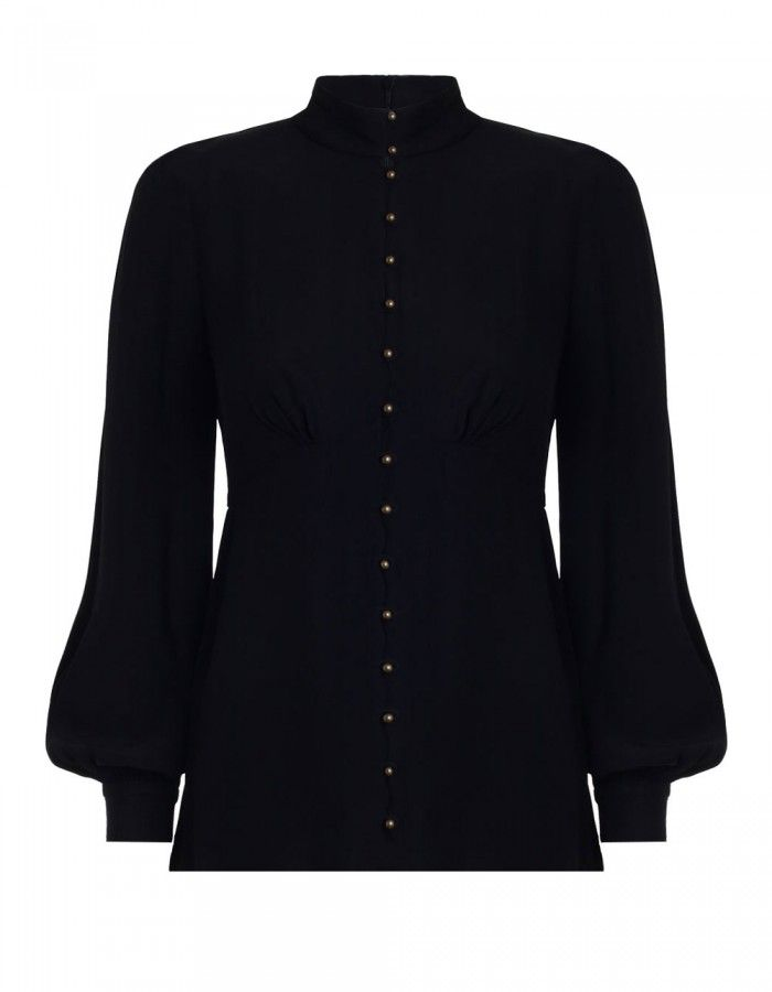 Zimmermann High Collar Blouse. Love this