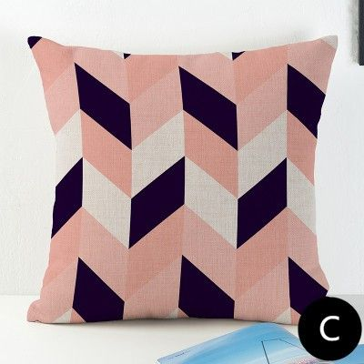 23 best pink geometric throw pillows for grey couch images on ...