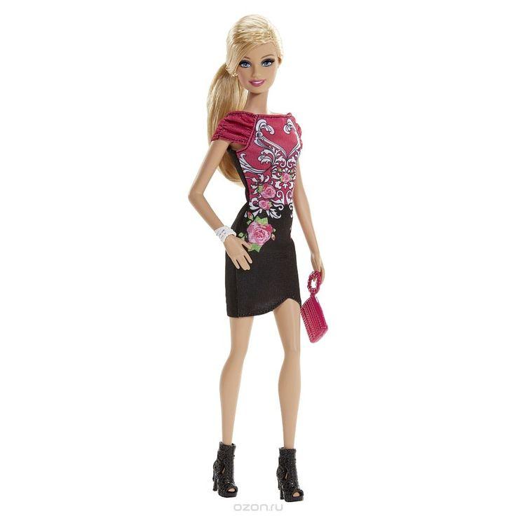 Barbie Кукла Гламурная вечеринка цвет платья красный черный