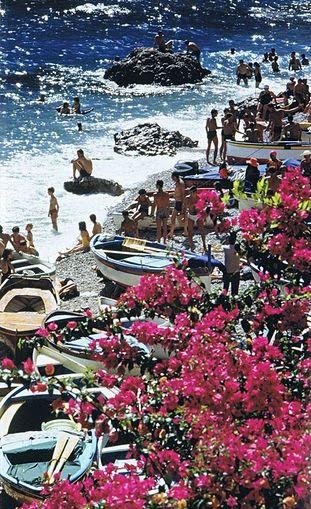the beautiful coastline of capri. (march 2014)