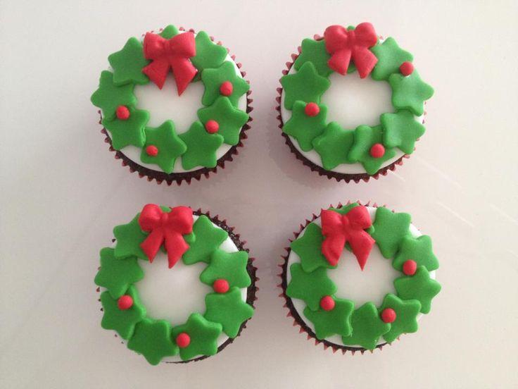 Cupcakes natalinos Mais