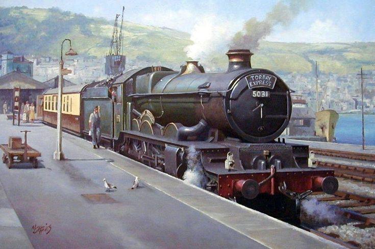 Ex-GWR Castle » Transport Artist