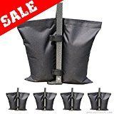 #9: Industrial Grade AbcCanopy Weights Bag Leg Weights for Pop up Canopy Tent Weighted Feet Bag Sand Bags 4pcs-pack