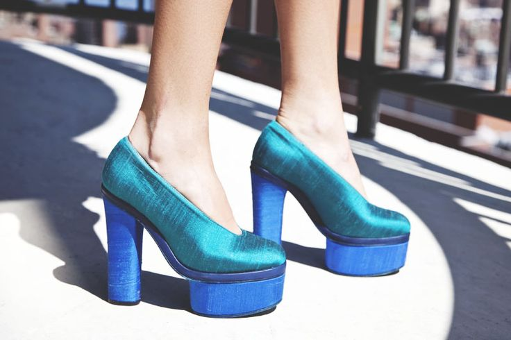 Acne: Mixed Bags, Acne Pumps, Acne Shoes, Blue Shoes, Www Manrepel Com, Platform Shoes, Man Repellent, Beautiful Shoes, High Heels