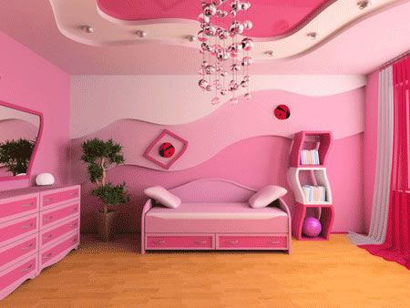 girls room paint ideas pink blue published april 23 2012 by wiwitt - Girls Bedroom Ideas Pink