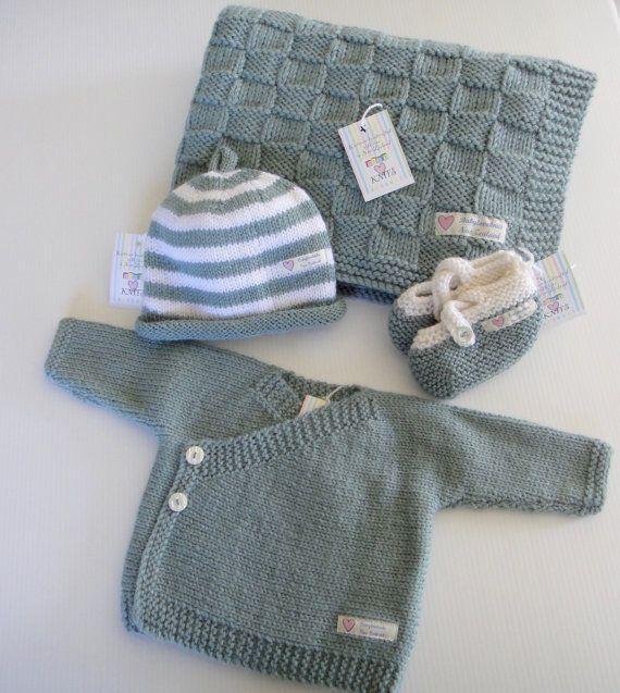 ber ideen zu gestrickte babydecken auf pinterest. Black Bedroom Furniture Sets. Home Design Ideas