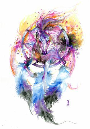 catcher by jongkie watercolour ideas