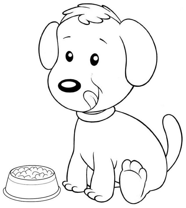 The Dozens Of Cute Dog Coloring Pages For Kids Coloring Pages Dog Coloring Page Animal Coloring Pages Cool Coloring Pages