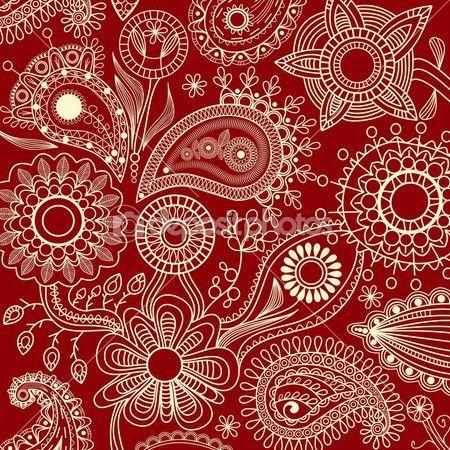 グラフィックの花の背景 — ストックベクタ #3472067