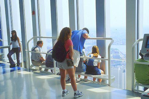 World Trade Center Photos: Inside the World Trade Center Observatory