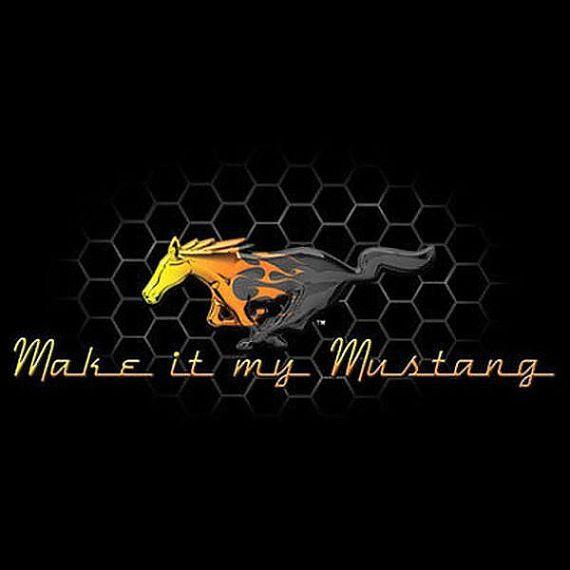 Ford Mustang Grill Make it my Mustang Car T Shirt Mens T Shirt 14971D2