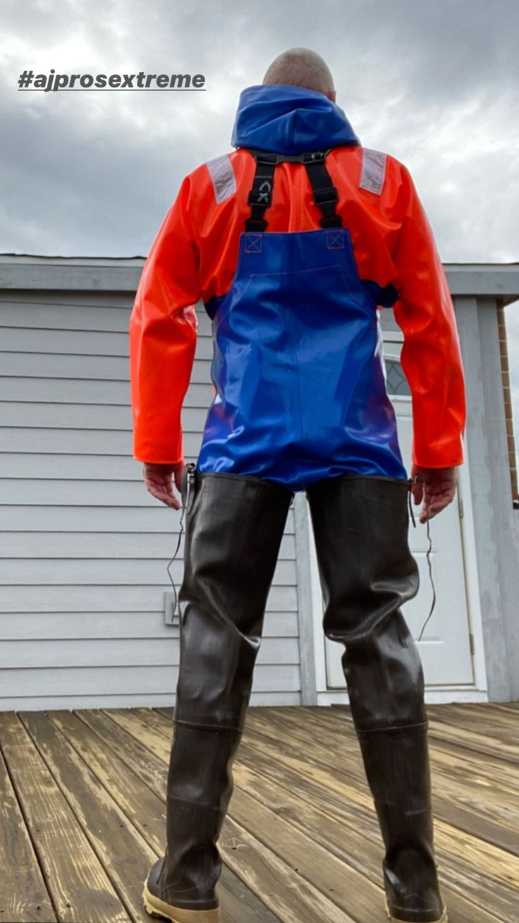 HeavyRubber in 2020 Rubber boot, Waders, Motorcycle jacket