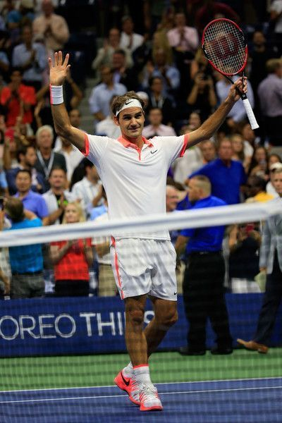 32f655441293d1 Roger Federer Photos - 2015 U.S. Open - Day 12 - Zimbio Sept 11