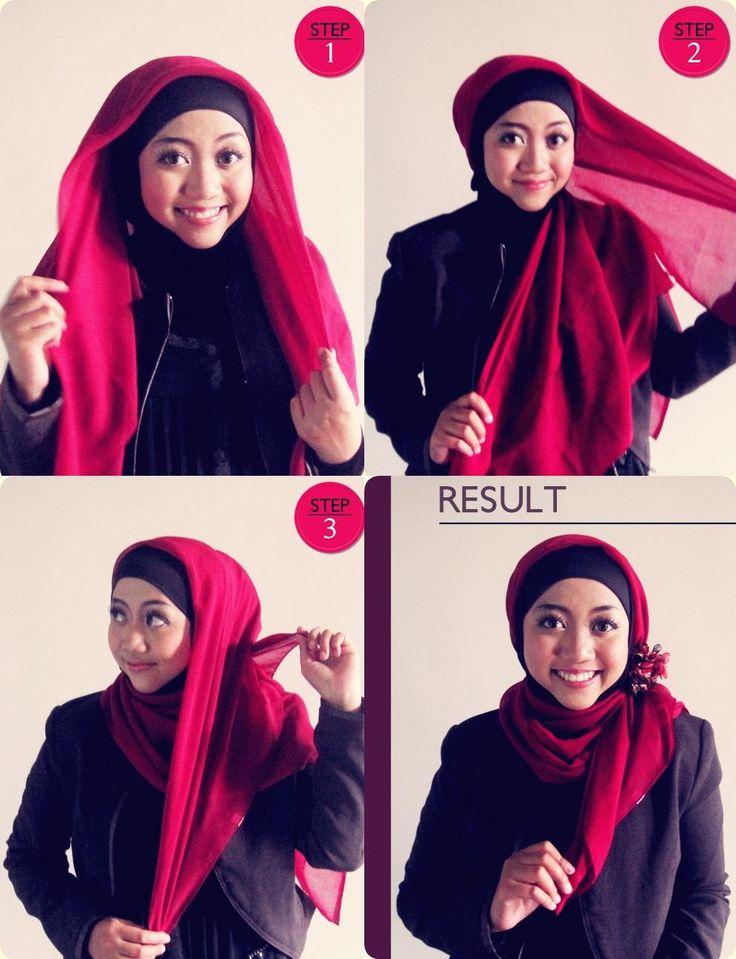 Tutorial Hijab Praktis #4 - Dorie Shop