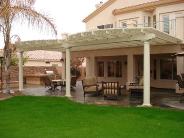 Pictures Of Custom Alumawood Lattice Patio Covers From The Phoenix, AZ  Area. Royal Covers