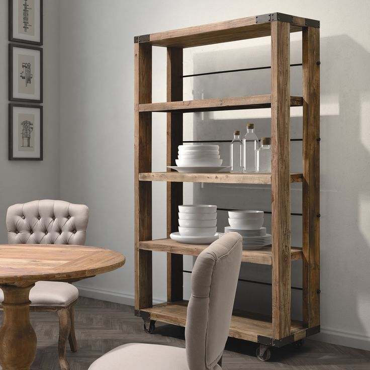 Zuo Era Newcomb Wide 4 Shelf | Wayfair