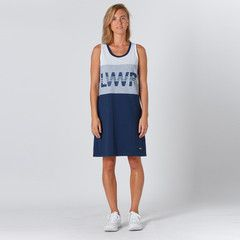 Lower Nets Dress Court - White/Grey Marle/Navy