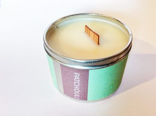 Home Fragrance   Poepa Soap - PATCHOULI SOY CANDLE