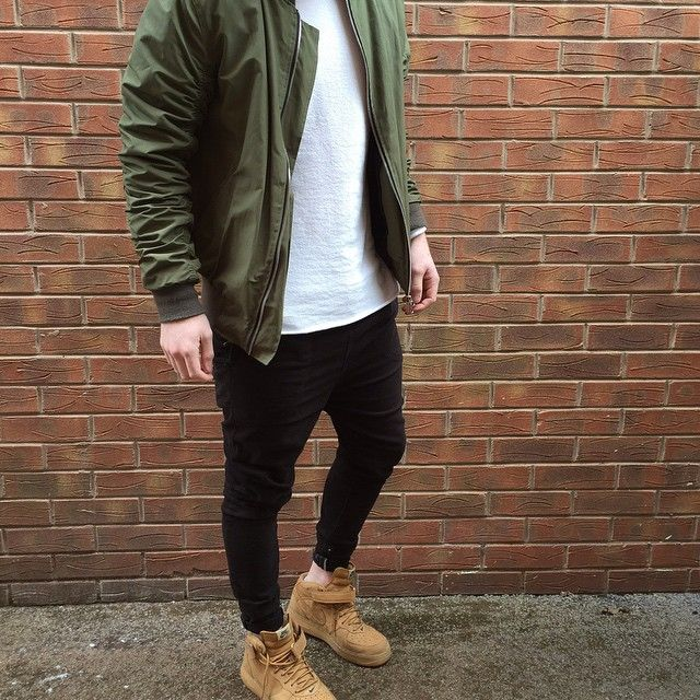 street style - I wonder if Nike will re-stocks the suede high tops any time soon.