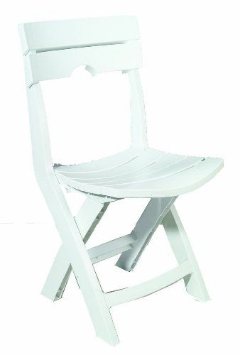 Adams Manufacturing 8575483700 QuikFold Chair White ** Be sure to check out this awesome product. (This is an Amazon Affiliate link)