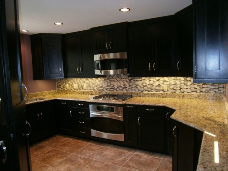kitchen kitchen backsplash ideas black granite countertops cabin pertaining to kitchen backsplash ideas for dark - Kitchen Backsplash Ideas With Black Granite Countertops