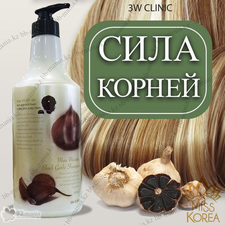 Black Garlic Shampoo [3W CLINIC]