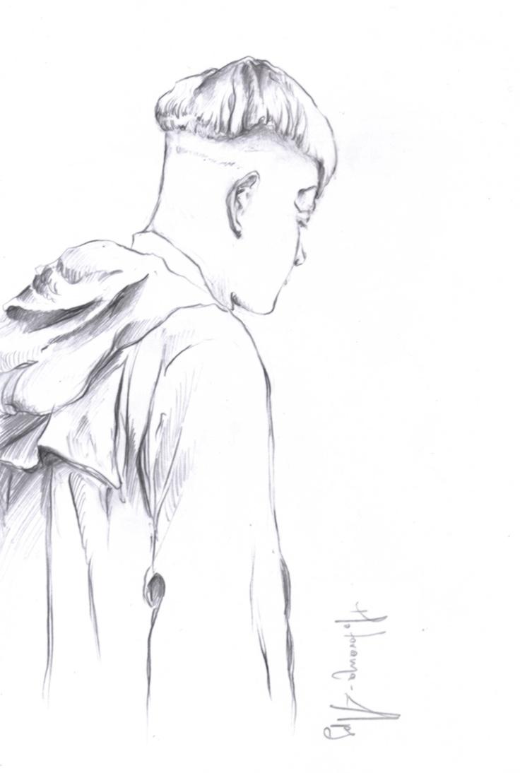 motorama-alps pencil drawing