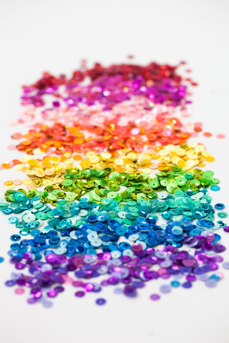 Scrapbook ideas rainbow - Rainbow Sequins By Doodlebug We Love Rainbow Products And Taking Photos Of Them In
